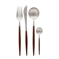 Cutipol Goa Cutlery Set 24 Piece Brown
