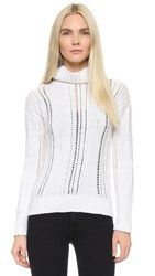 Maiyet Turtleneck Sweater White