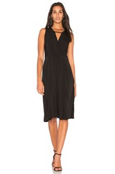 Bcbgeneration Drape Midi Dress Black