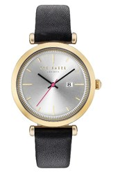 Ted Baker Women's London Ava Leather Strap Watch 36Mm