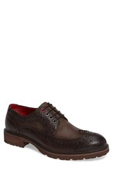 Jump Men's Bleecker Spectator Shoe Dark Brown