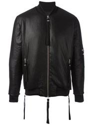 Blood Brother Shine Bomber Jacket Black