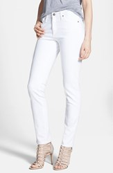 Ag Jeans Women's Ag 'The Prima' Mid Rise Cigarette Jeans White