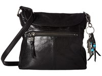 The Sak Esperato Flap Crossbody Black Cross Body Handbags