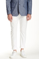 Jack Spade Brantley 5 Pocket Canvas Pant White