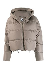 Bacon Quilted Puffer Jacket Grey