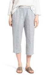 Eileen Fisher Women's Organic Linen Straight Leg Crop Pants