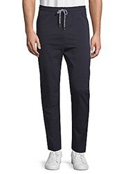 Sovereign Code Finest Stretch Cotton Pants Navy