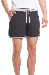2Xist 2 X Ist Performance Jogger Shorts Black Earl Grey