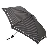 Fulton Tiny 2 Classics Compact Folding Umbrella Black White