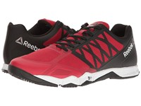 Reebok Crossfit Speed Tr Excellent Red Black White Pewter Men's Cross Training Shoes