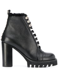 Philipp Plein Star Studded Ankle Boots 60