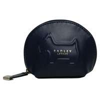 Radley Shadow Leather Small Coin Purse Navy