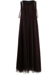 Fabiana Filippi Sleeveless Flared Maxi Dress 60
