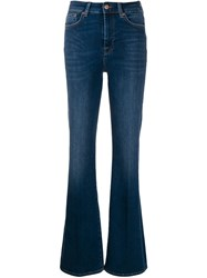 7 For All Mankind Slim Illusion Jeans Blue