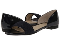 Adrienne Vittadini Aloha Navy Patent Stretch Women's Dress Sandals