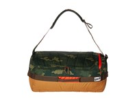 Kelty Dodger Duffel 40L Green Camo Canyon Brown Duffel Bags
