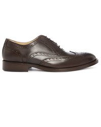 Estime Dark Brown Km 5 Leather Brogues