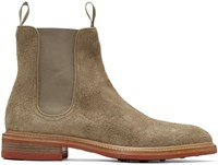 Rag And Bone Taupe Spencer Chelsea Boots