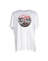 Timberland Topwear T Shirts Men White