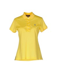 Ralph Lauren Collection Polo Shirts Yellow