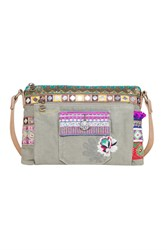 Desigual Bag Toulouse Military Deluxe Green