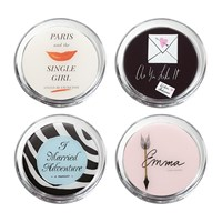 Kate Spade A Way With Words Coaster Set Of 4