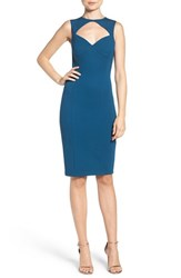 Ali And Jay Women's Ponte Sheath Dress Sapphire