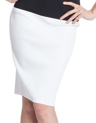 Tracy Reese Combo Pencil Skirt Calla Lily
