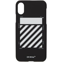 Off White Black And Diagonal Iphone X Case