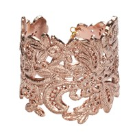 Bonnie Star Lace Cuff Rose Gold