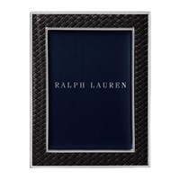 Ralph Lauren Home Brockton Photo Frame Black 5X7