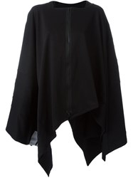 Y 3 Three Stripes Cape Black