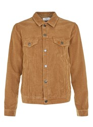 Topman Tobacco Corduroy Jacket Brown