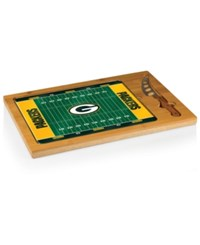 Picnic Time Green Bay Packers Icon Cutting Board Burlywood