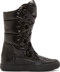 Moncler Black Quilted Puffer Catherine Boots
