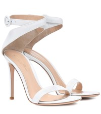 Gianvito Rossi Exclusive To Mytheresa.Com Cross Strap Leather Sandals White