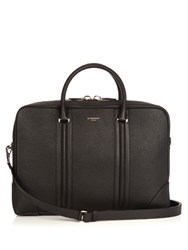 Givenchy Grained Leather Briefcase Black