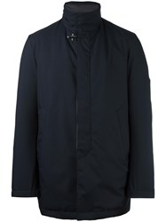 Fay Zipped Padded Jacket Blue