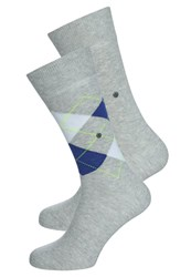 Burlington 2 Pack Socks Storm Grey