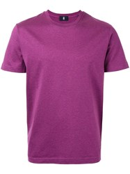 Kent And Curwen Classic T Shirt Pink Purple
