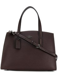 Coach Charlie Carryall 28 Bag Red