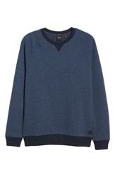 Boss Stadler Denimic Regular Fit Sweatshirt Blue