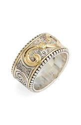 Women's Konstantino 'Hebe' Swirl Etched Band Ring