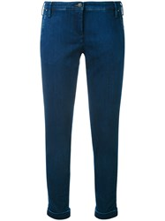 Jacob Cohen Chino Denim Jeans Women Cotton Polyester Spandex Elastane 28 Blue