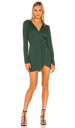 Blue Life Rocio Dress In Dark Green. Forrest Green
