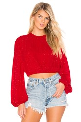 Beach Riot Maddy Top Red