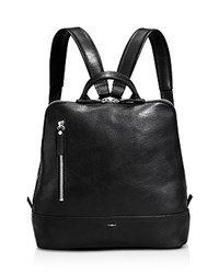 Shinola Mini Zip Backpack Black
