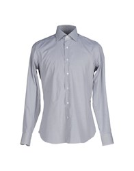 Mastai Ferretti Shirts Shirts Men Grey