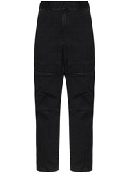 Ambush Elasticated High Rise Jeans Black
